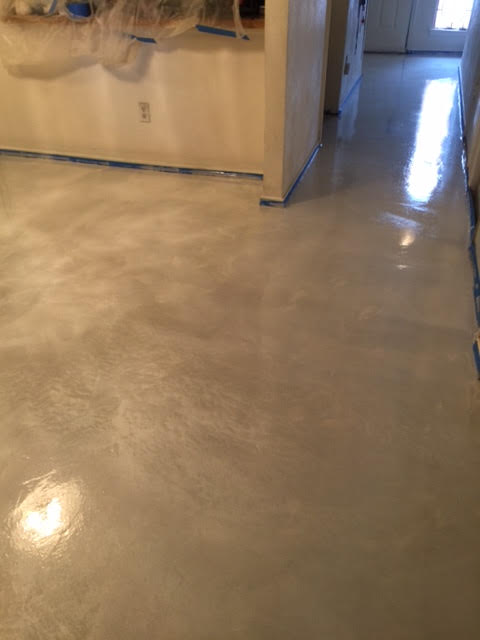 Custom Stained Concrete Floors : Decorative stained concrete flooring in plano tx
