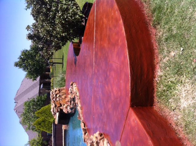 Stained Concrete Pool Deck Resurfacing Holland Custom